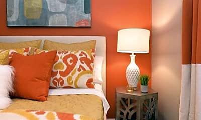 Bedroom, Monarch Apartments, 2
