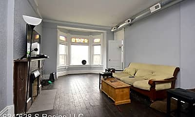 Living Room, 624 S Racine Ave, 0