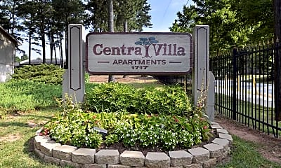 Community Signage, Centra Villa Apartments, 2