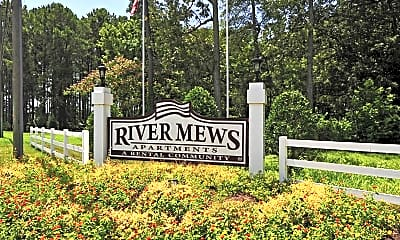 Community Signage, River Mews Apartments & Townhomes, 2