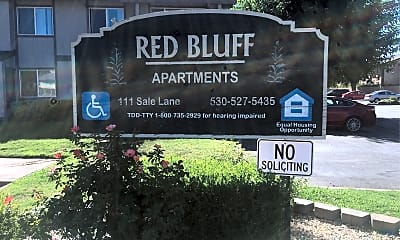 Red Bluff Apartments, 1