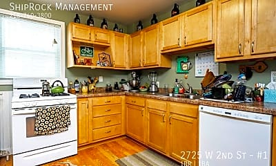 Kitchen, 2725 W 2Nd St - #1, 1