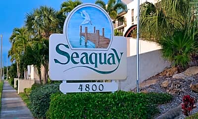 Community Signage, 4800 Florida A1A 307, 1