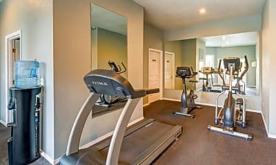 Fitness Weight Room, Westview Village Apartments, 2