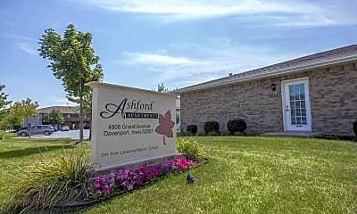 Community Signage, Ashford Apartments, 0