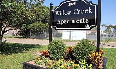 Community Signage, Willow Creek, 0