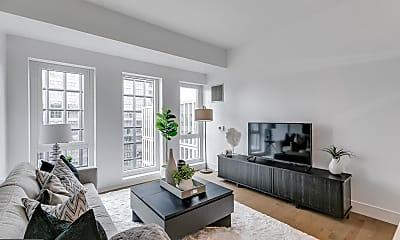 Living Room, 1101 Ludlow St, 1