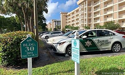 Community Signage, 2851 S Palm Aire Dr 407, 1