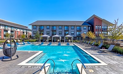 Pool, Alta Champions Circle Apartments, 0