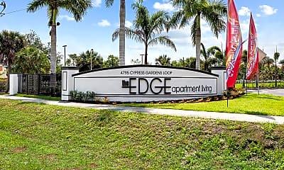 Community Signage, The Edge, 0