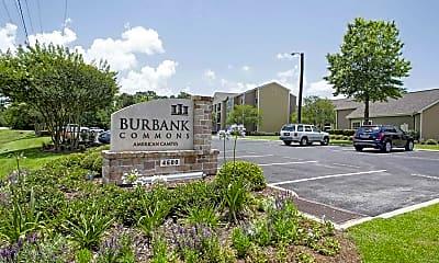 Community Signage, Burbank Commons, 2