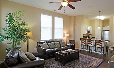 Living Room, The Quarters at Park View, 0