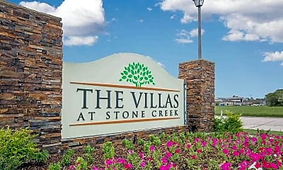 Community Signage, The Villas at Stone Creek, 0