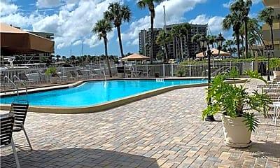 Pool, 1621 Gulf Blvd 1605, 2