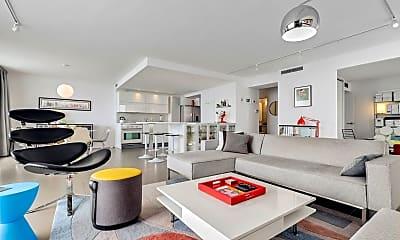 Living Room, 5855 N Sheridan Rd, 0