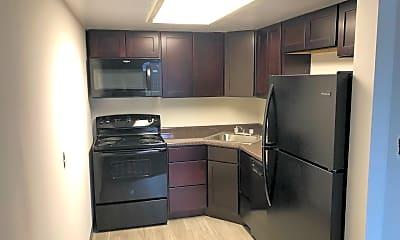 Kitchen, Llanerch Place Apartments, 0