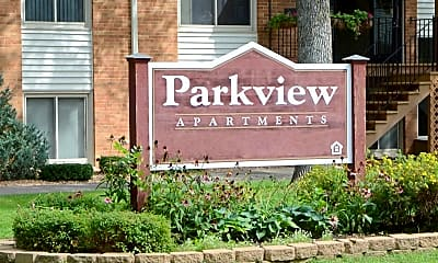 Community Signage, Parkview Apartments, 2