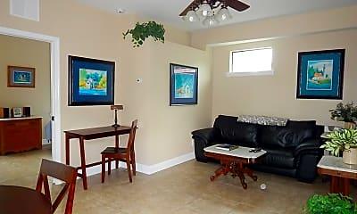 Living Room, 16909 Franklin Ave B, 1