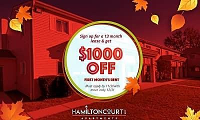 Community Signage, Hamilton Court East, 2