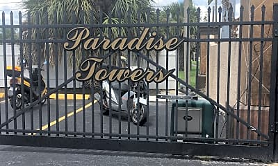 Paradise Towers, 1