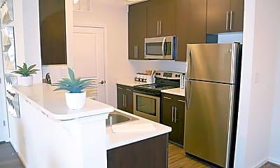 Kitchen, Belmont at Tryon Apartments, 0