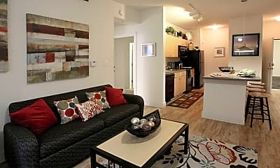Living Room, Sanctuary Lofts, 1
