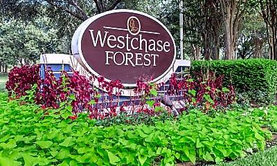 Community Signage, Westchase Forest, 1