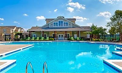 Pool, Glenbrook Apartments, 1
