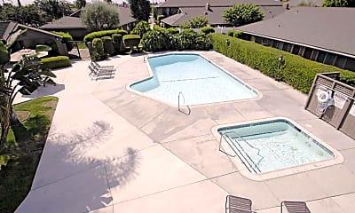Pool, Serrento California Apartments, 2