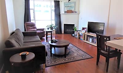 Living Room, 1240 India St 621, 1