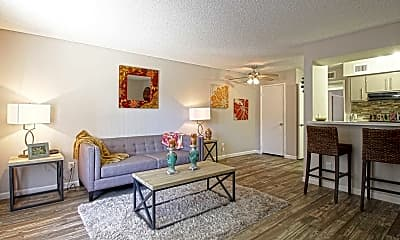 Living Room, Sierra Pines, 1