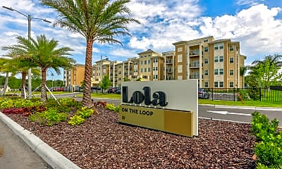 Community Signage, Lola Apartments, 2