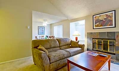 Living Room, Villa Bonita Apartments, 1