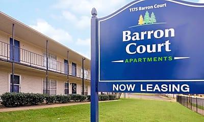 Community Signage, Barron Court Apartments, 0