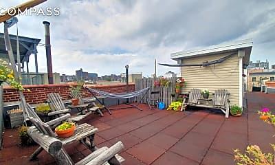 Patio / Deck, 79 W 127th St 2-D, 0