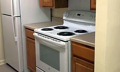 Kitchen, Park Place Apartments, 1