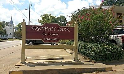 Brenham Park, 1