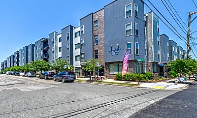 Building, Shockoe Valley View Apartments, 1
