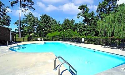 Pool, Eagle Point Village, 1