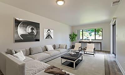 Living Room, Miramar Townhomes Military Housing (MCAS), 0