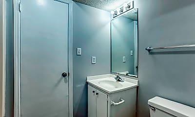 Bathroom, BlueBird Apartments, 2