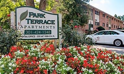 Community Signage, Park Terrace, 0