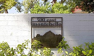 Community Signage, Montebello, 2