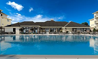 Pool, Village East Apartments, 0