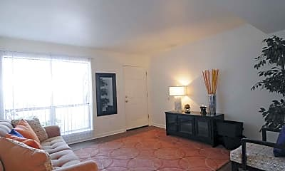 Living Room, Peachtree Commons, 1