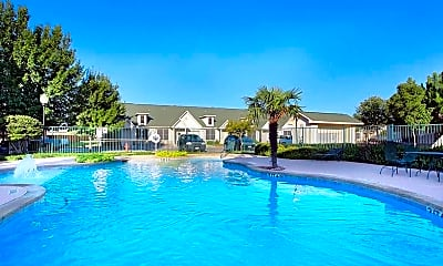 Pool, The Place at Houston Street Townhomes, 2