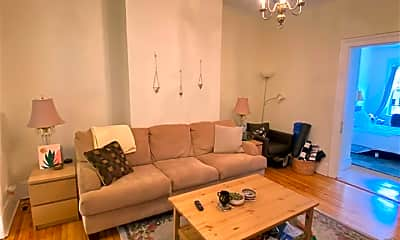 Living Room, 332 Bloomfield St 1, 1