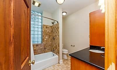 Bathroom, 1538 N.Oakley 1, 2