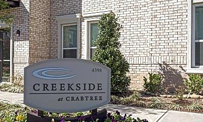 Community Signage, Creekside at Crabtree, 2