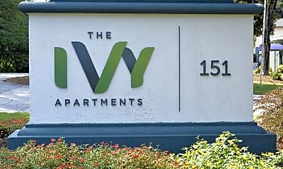 Community Signage, The Ivy Apartments, 2